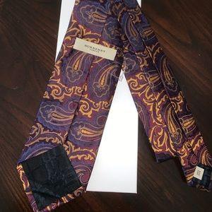 Burberry Accessories - Burberry London Silk Tie